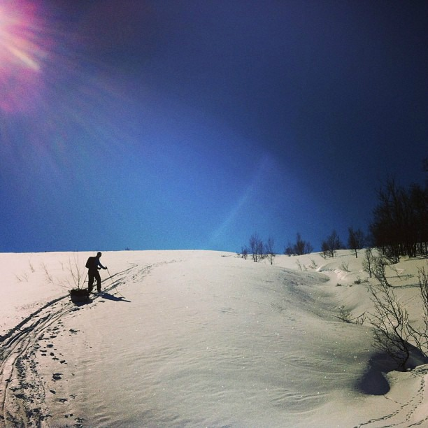 Skitouring in Norway via Instagram I @SatuVW I To Destination Unknown