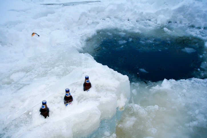 Cooling saunabeer in Finland I @SatuVW I Destination Unknown