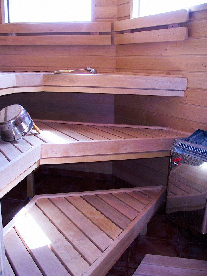 Typical Finnish sauna I @SatuVW I Destination Unknown