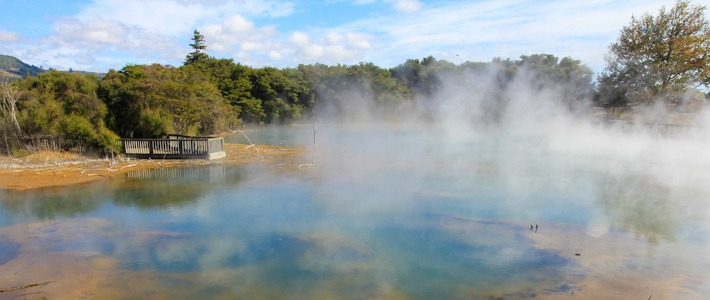 Kuirau Park in Rotorua, New Zealand I @SatuVW I Destination Unknown