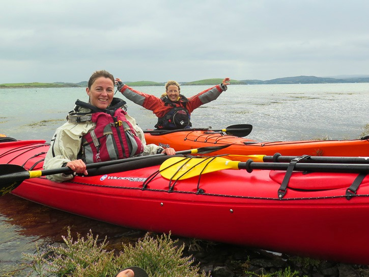 Seakayaking in Westport, Ireland I @SatuVW I Destination Unknown