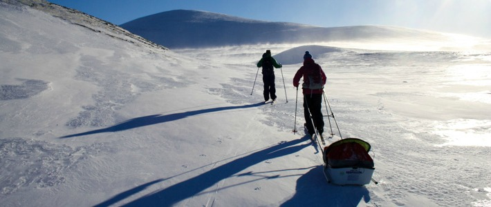 Ski touring in Norway I @SatuVW I Destination Unknown