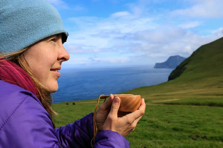 Tea brake on Faroe Islands I @ Kate Cornfield I Destination Unknown